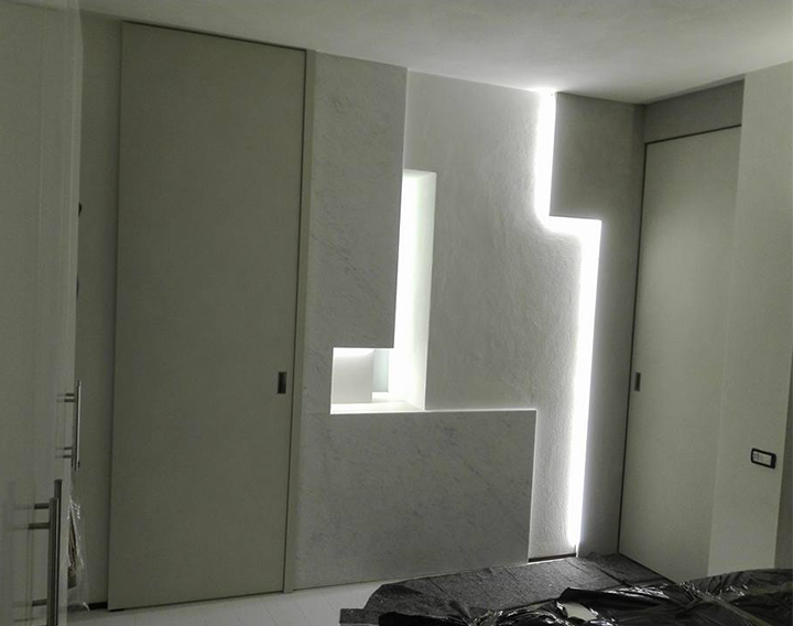 Illuminazione in cartongesso u decoratore savigliano cuneo torino